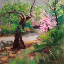 Bowing to Beauty–SOLD