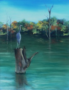 Heron Watch–SOLD