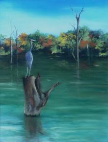 Heron Watch–SOLD